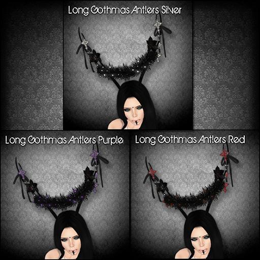 Long Gothmas Antlers for Gothmas