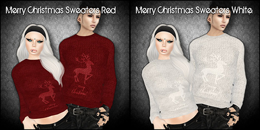 Merry Christmas Sweaters for FROST