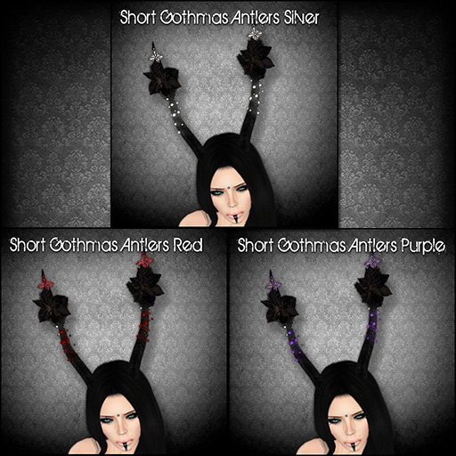 Short Gothmas Antlers for Gothmas