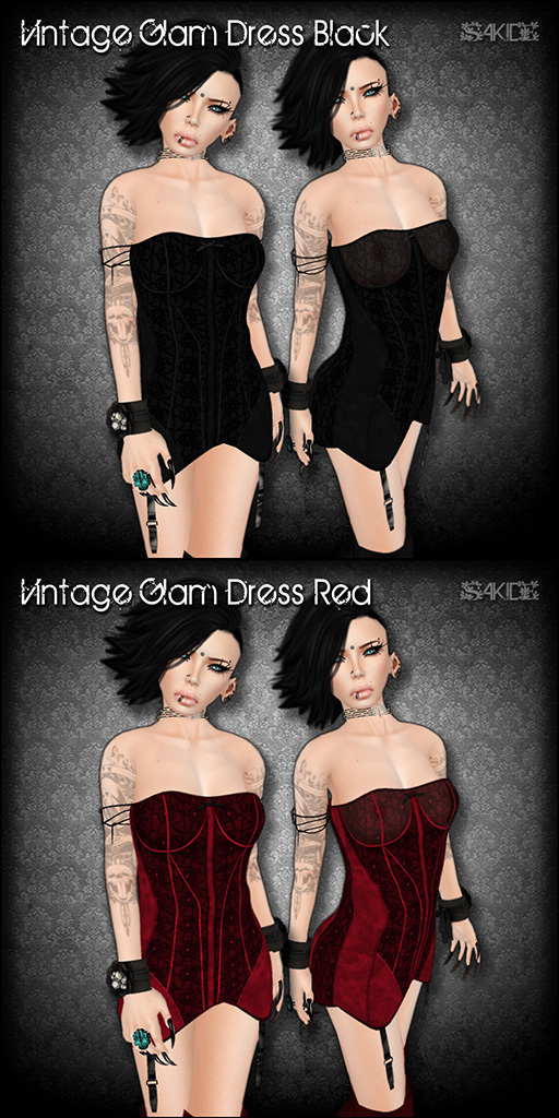 Vintage Glam Dresses for Perfect Wardrobe