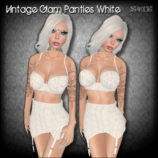 Vintage Glam Panties for FROST