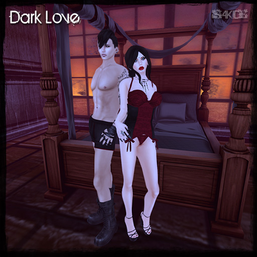Dark Love Lingerie for Love Potion N°9.9 Hunt