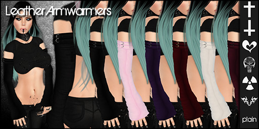 Leather Armwarmers - Mainstore