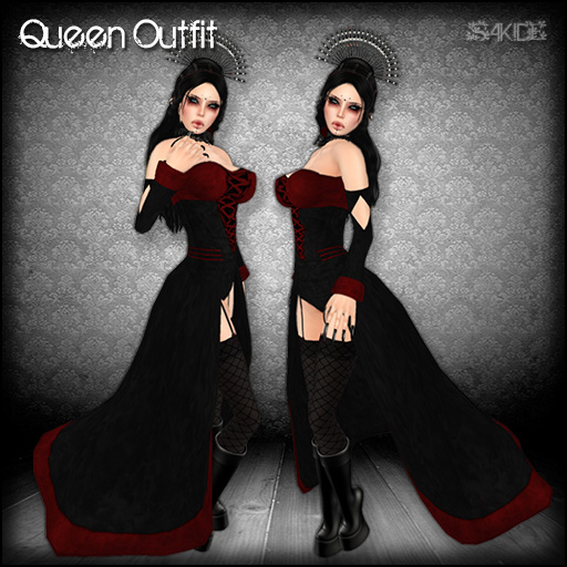Queen Outfit for RMK Gothic Hunt