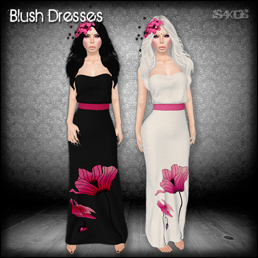 Blush Dresses for SL Buddy Walk