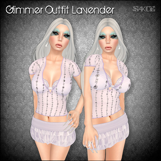 Glimmer Oufit Lavender for Fashion for Life 2013