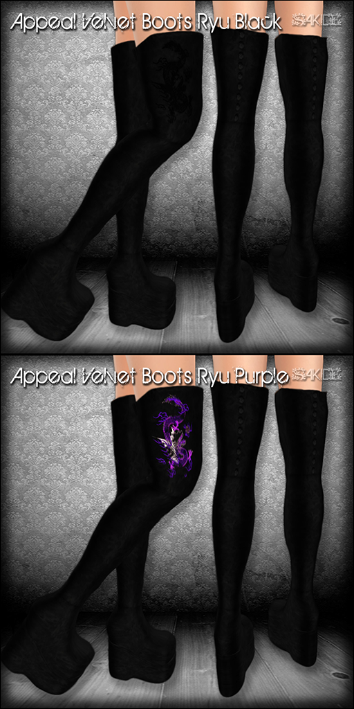 Appeal Boots Ryu for Fantasy Faire 2013