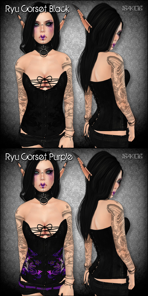 Ryu Corsets for Fantasy Faire 2013