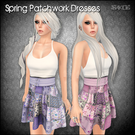 Spring Patchwork Dresses for Perfect Wardrobe