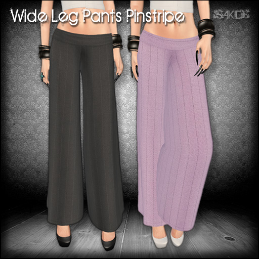 Wide Leg Pants Pinstripe for The Black Market
