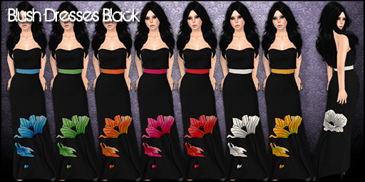 Blush Dresses Black - Mainstore
