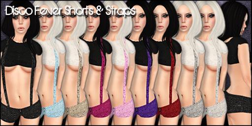 Disco Fever Shorts & Straps - Mainstore