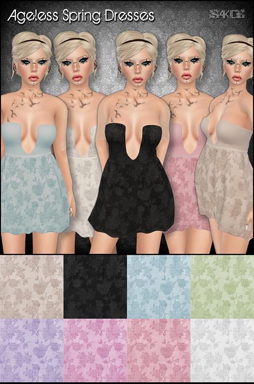 Ageless Spring Dresses for The 100 Block