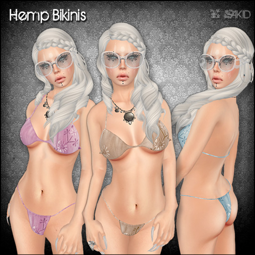 Hemp Bikinis for Little Big Hunt