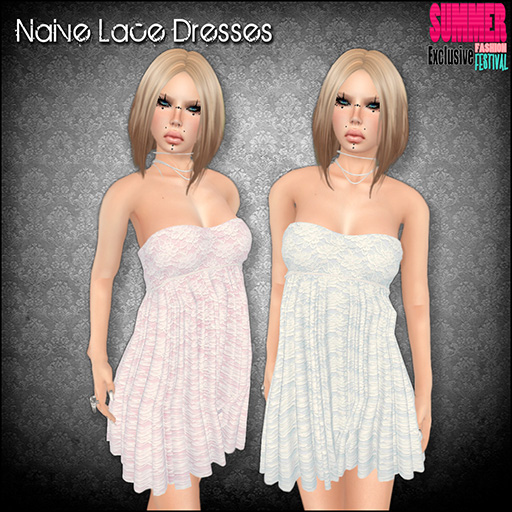 Naive Lace Dresses for Summer Fashion Festival