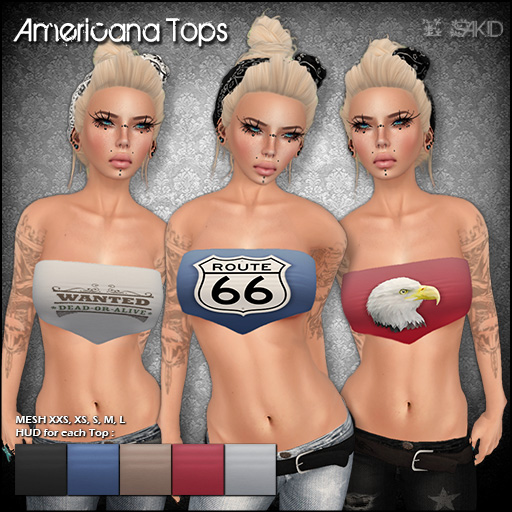 Americana Tops for Flux Event