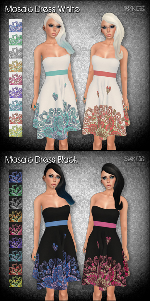 Mosaic Dresses for Love Donna Flora Event