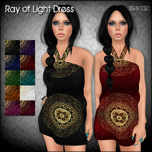 Ray of Light Dress for The Black Market