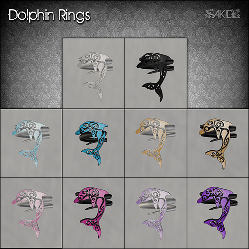 Dolphin Rings for Flux August