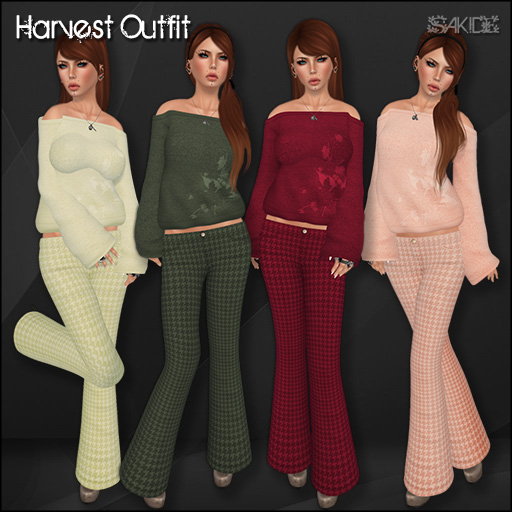 Harvest Outfit for The Autum Effect Hunt