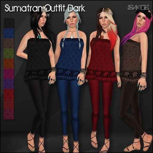 Sumatran Outfit Dark for the Marquis Market