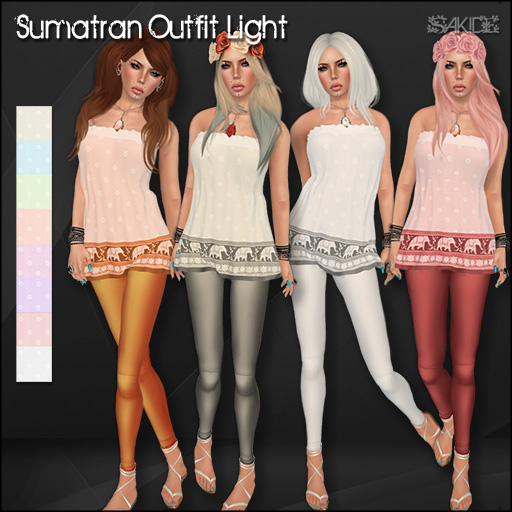 Sumatran Outfit Light for the Marquis Market