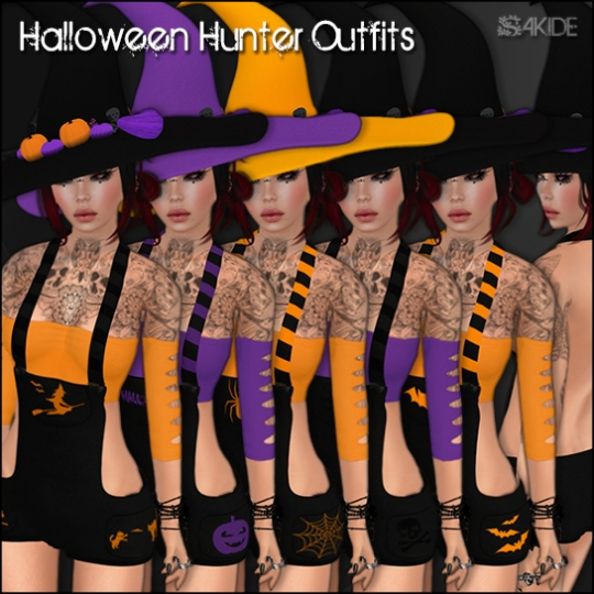 Halloween Hunter Outfits - Mainstore