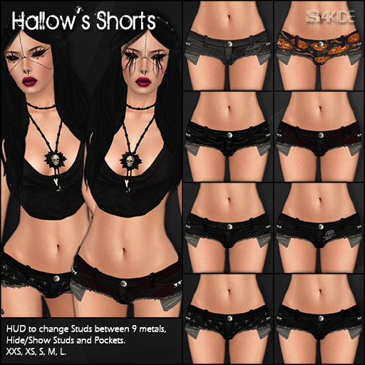 Hallow's Shorts Gacha for Horrorfest 2013
