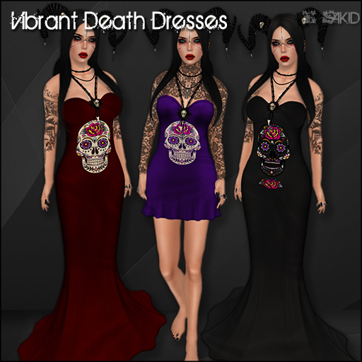 Vibrant Death Dresses for Flux