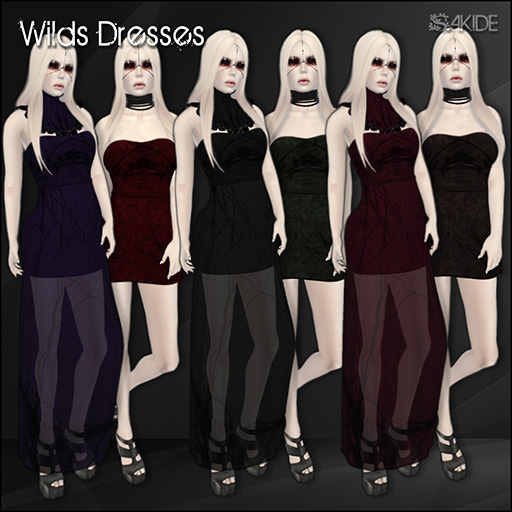 Wilds Dresses for Horrorfest 2013