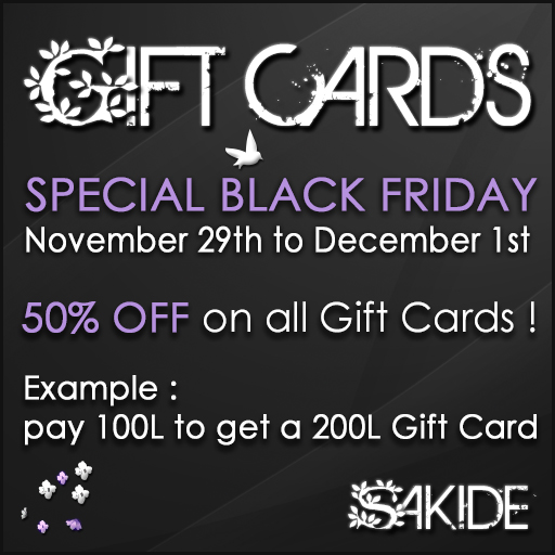 Gift Cards sale