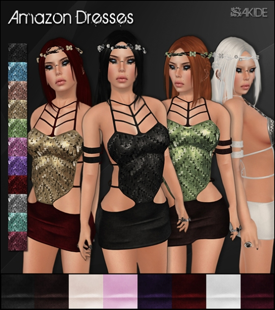 Amazon Dresses for The Fantasy Collective