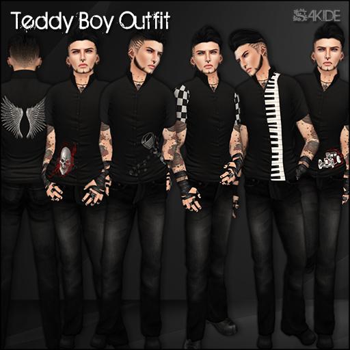 Teddy Boy Outfit for The Rockabilly Fashion Fair