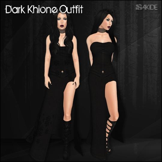 Dark Khione Outfit for Gothmas