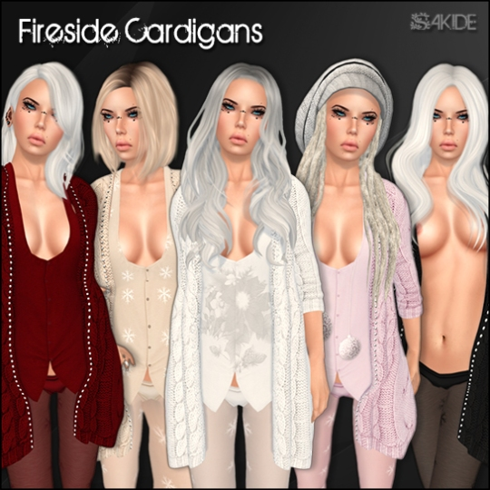 Fireside Cardigans for FROST Event