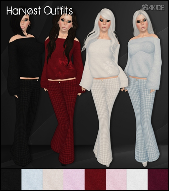 Harvest Outfits for PW