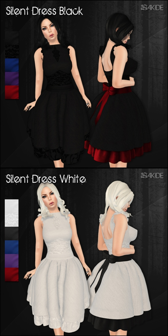 Silent Dresses for Gothmas