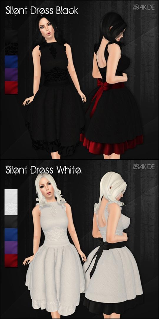 Silent Dresses for Gothmas