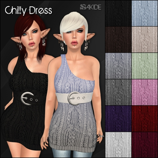 Chilly Dress for Oh My Gacha!