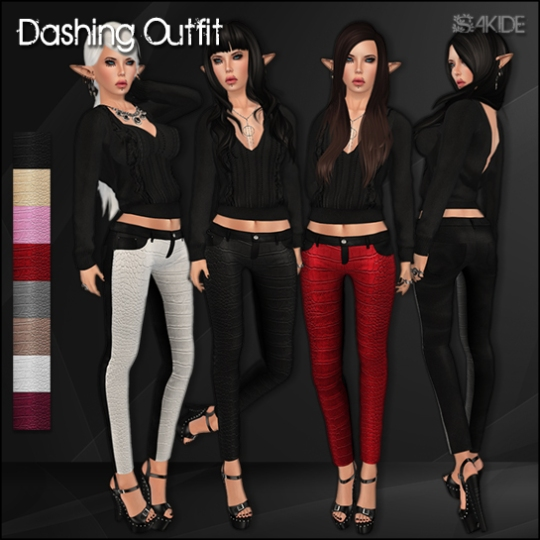 Dashing Outfit for Project Limited Fair