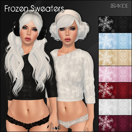 Frozen Sweaters for Oh My Gacha!