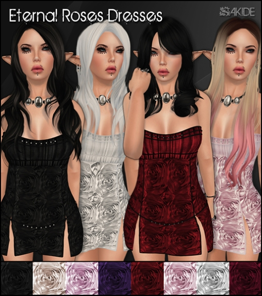 Eternal Roses Dresses - Mainstore