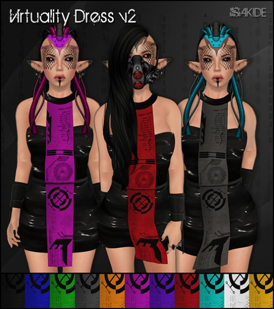 Virtuality Dresses for FutureWave Event