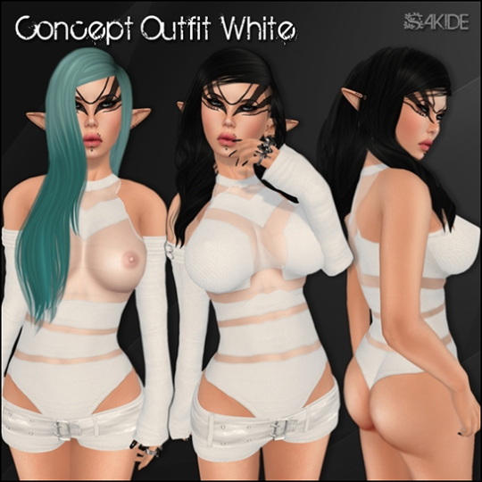 Concept Outfits for Whore Couture Fair 3