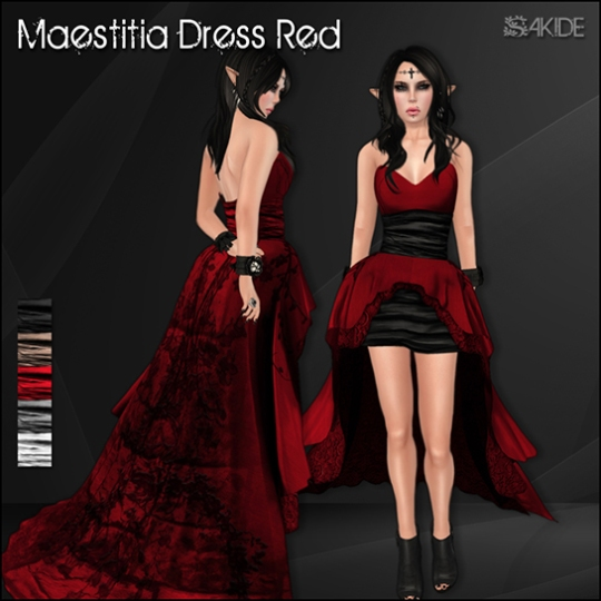 Maestitia Dresses for Fantasy Faire 2014