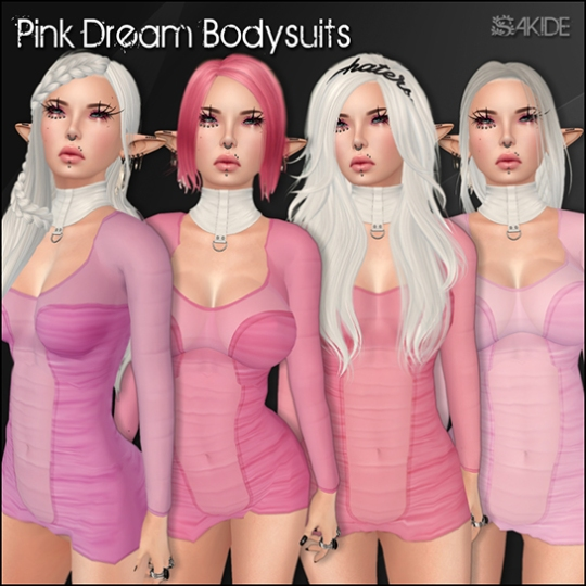 Pink Dream Bodysuits