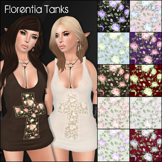 Florentia Tanks for Oh MY Gacha!