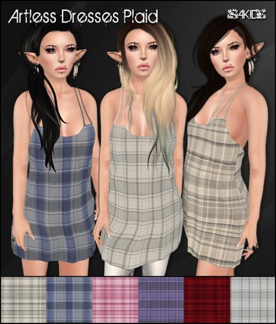 Artless Dresses Plaid