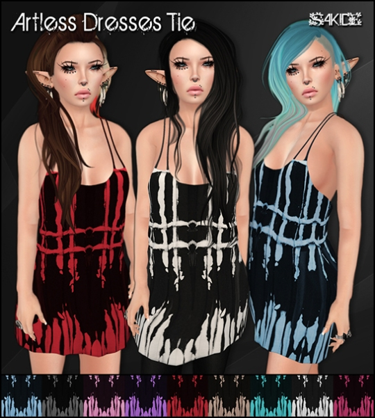 Artless Dresses Tie