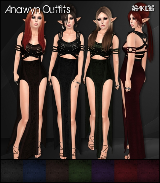 Anawyn Outfits for Mystic Realms Faire